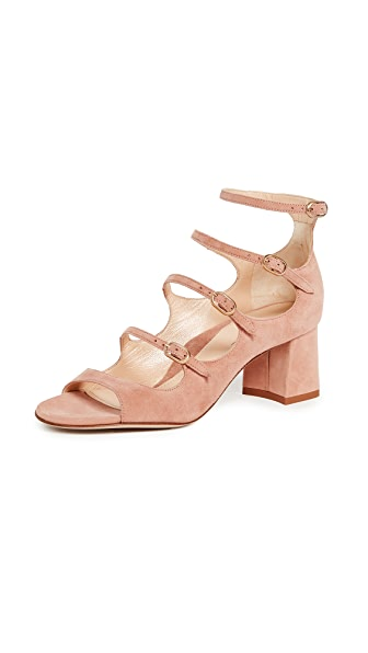 Marion Parke Bernadette Sandals In Blush