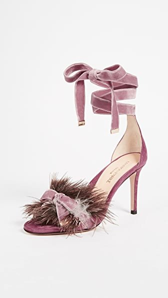 Lainey Feather Sandals