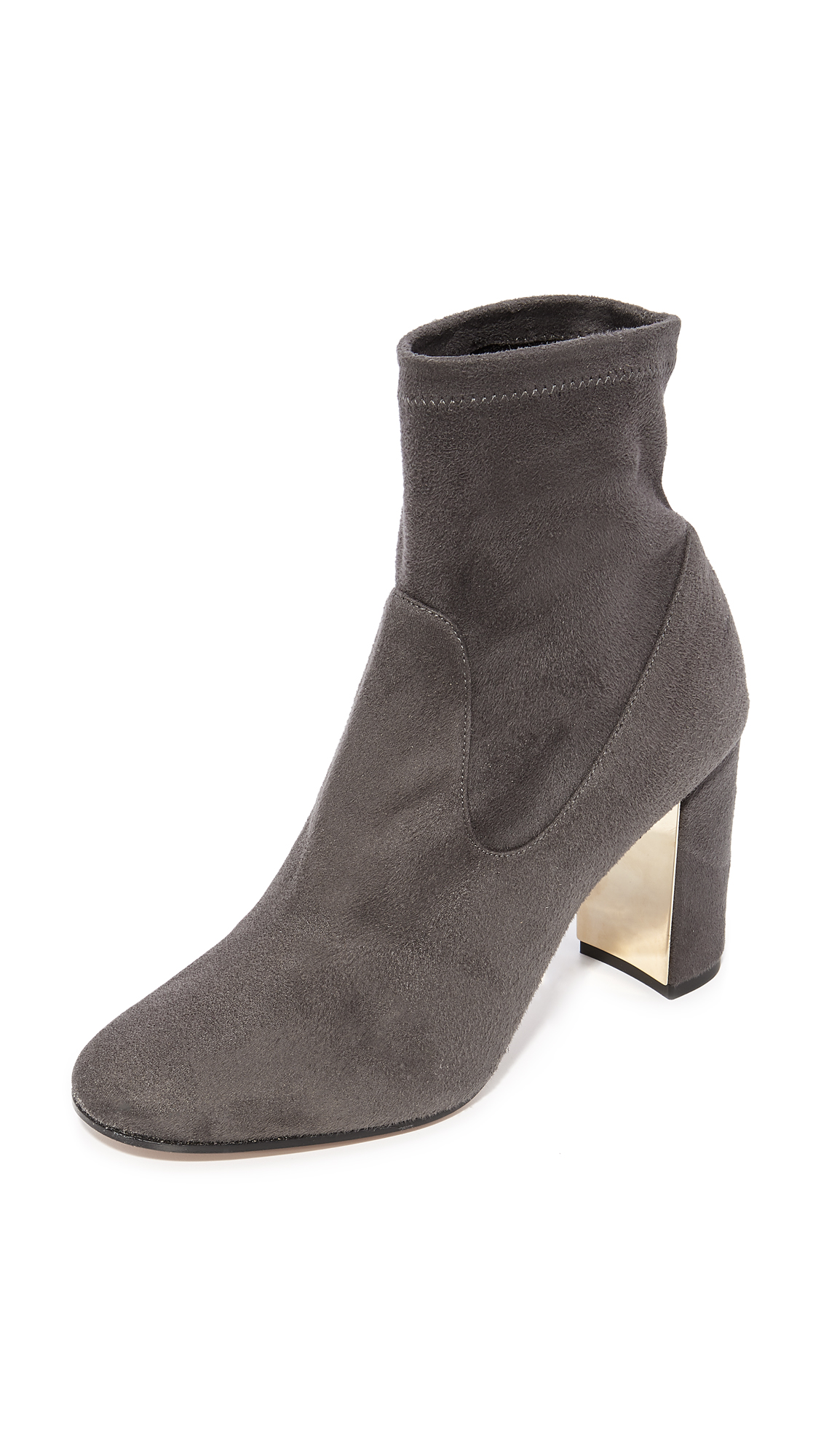 Marion Parke Kate Booties - Smoke
