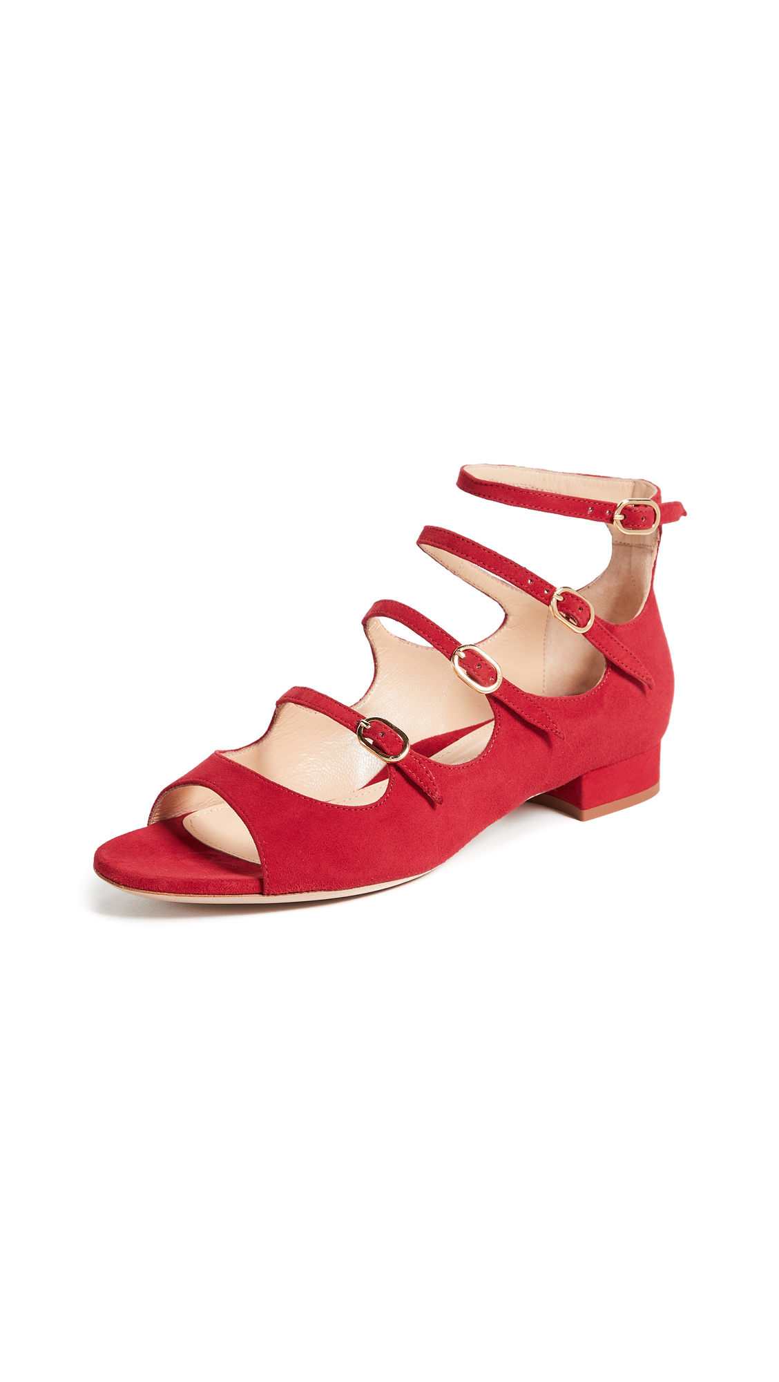 Marion Parke Jonie Pumps - Classic Red
