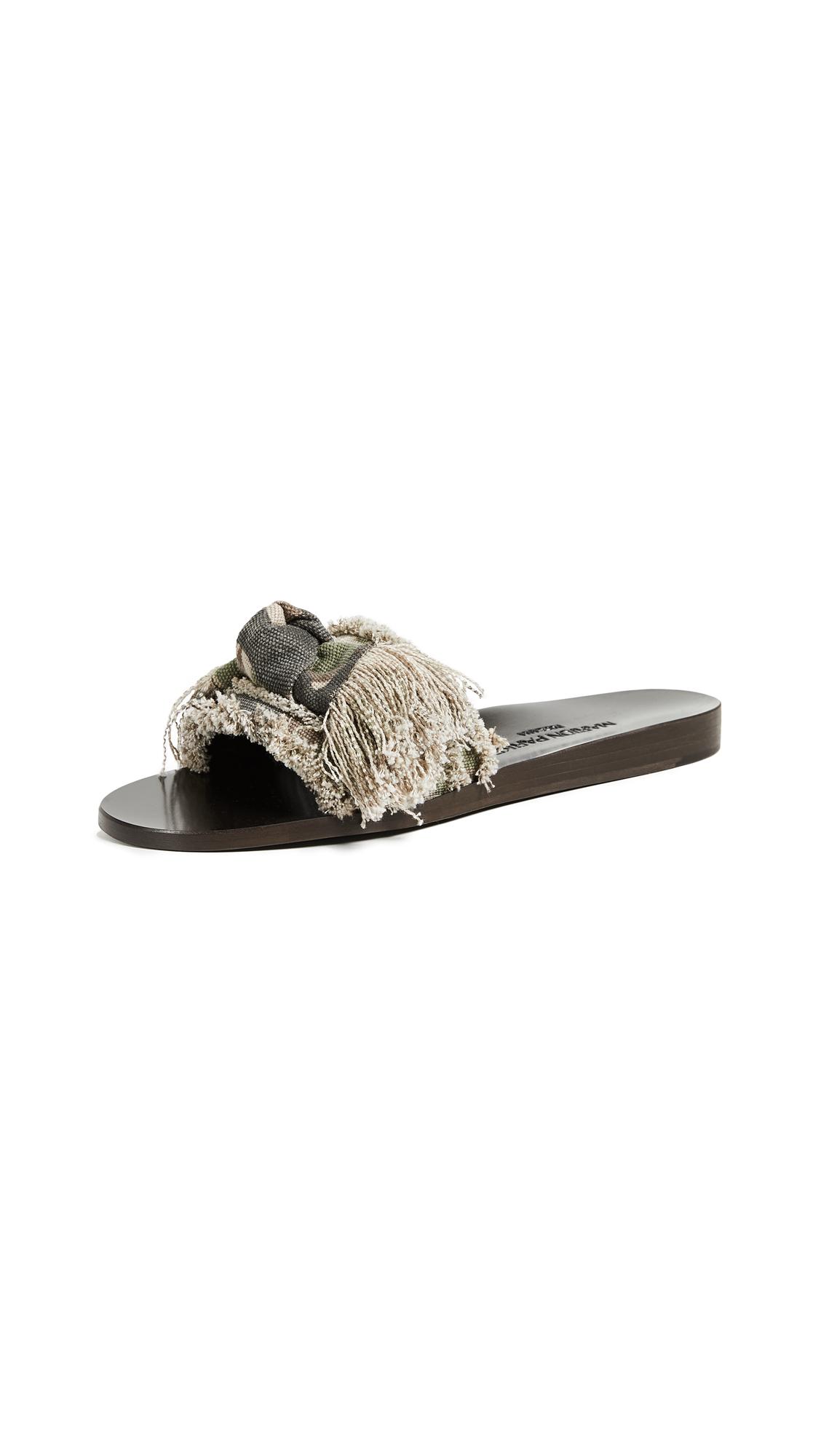 Marion Parke Jordan Slides - Camoflage