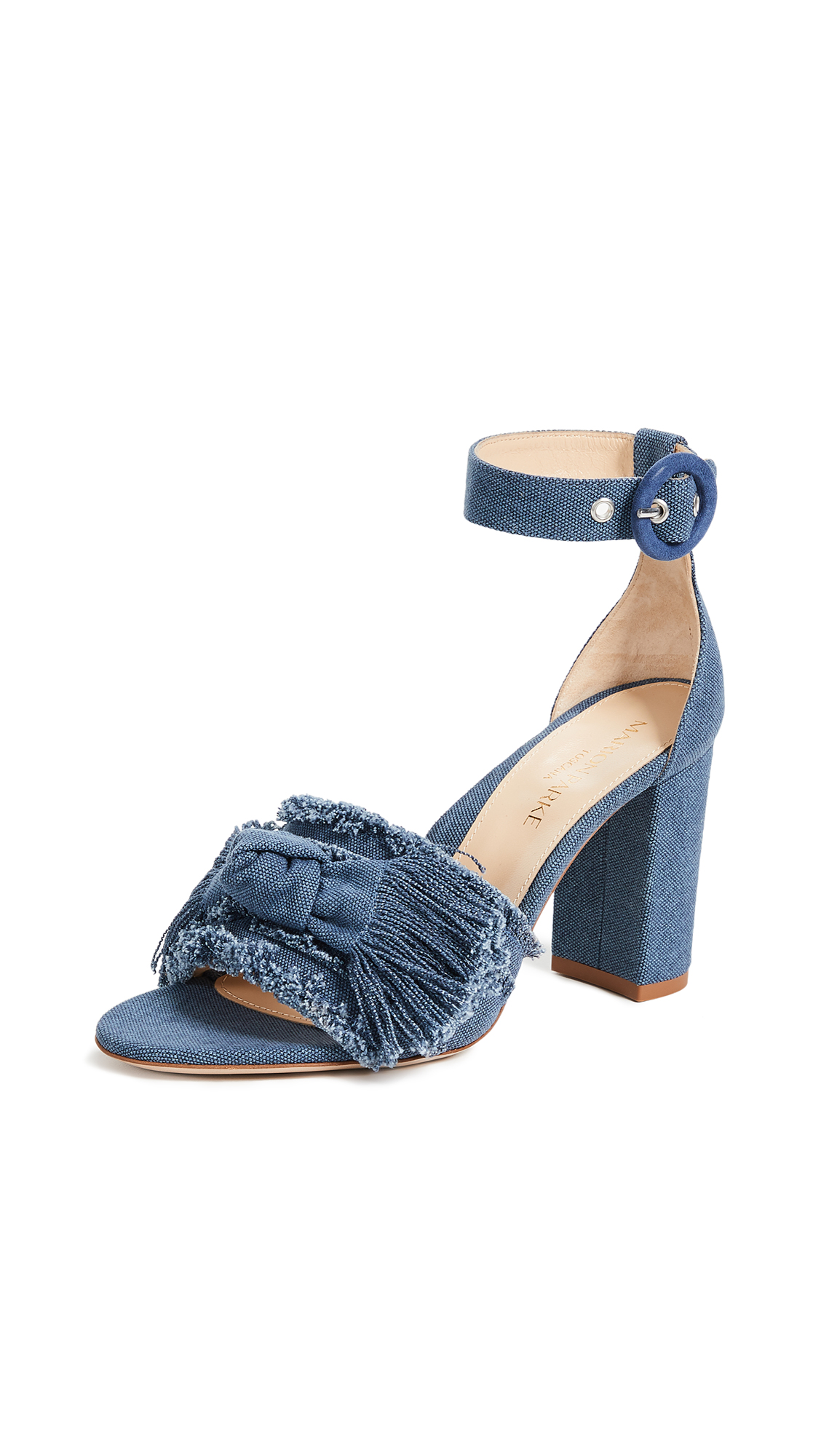 Marion Parke Larin Sandals - Blue Denim
