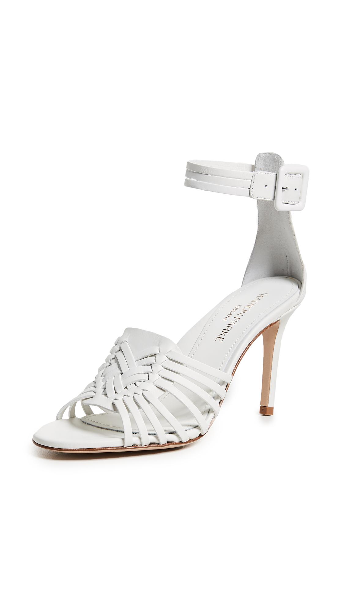 Marion Parke Lewis Sandals - White