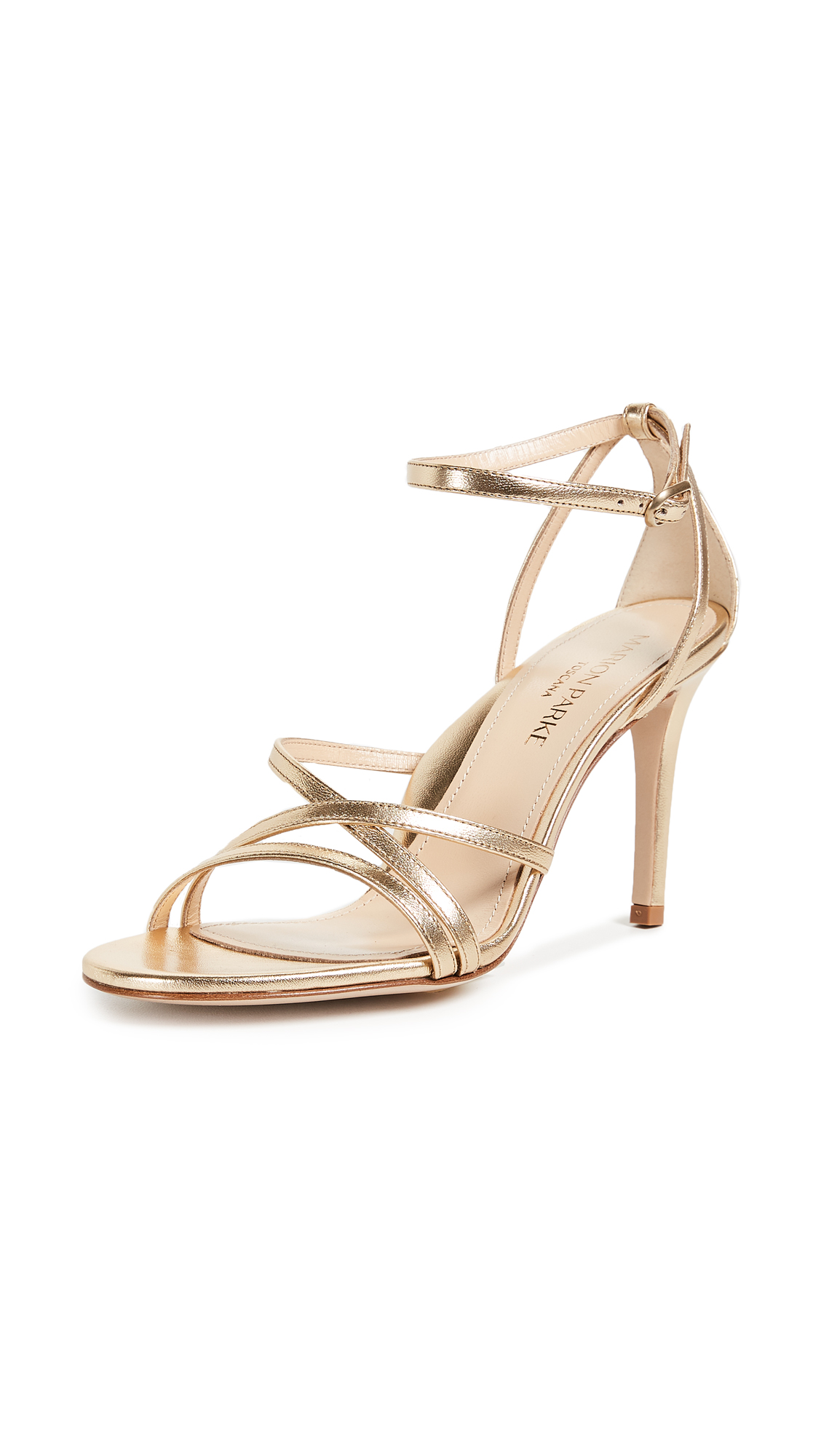 Marion Parke Lillian Sandals - Soft Gold