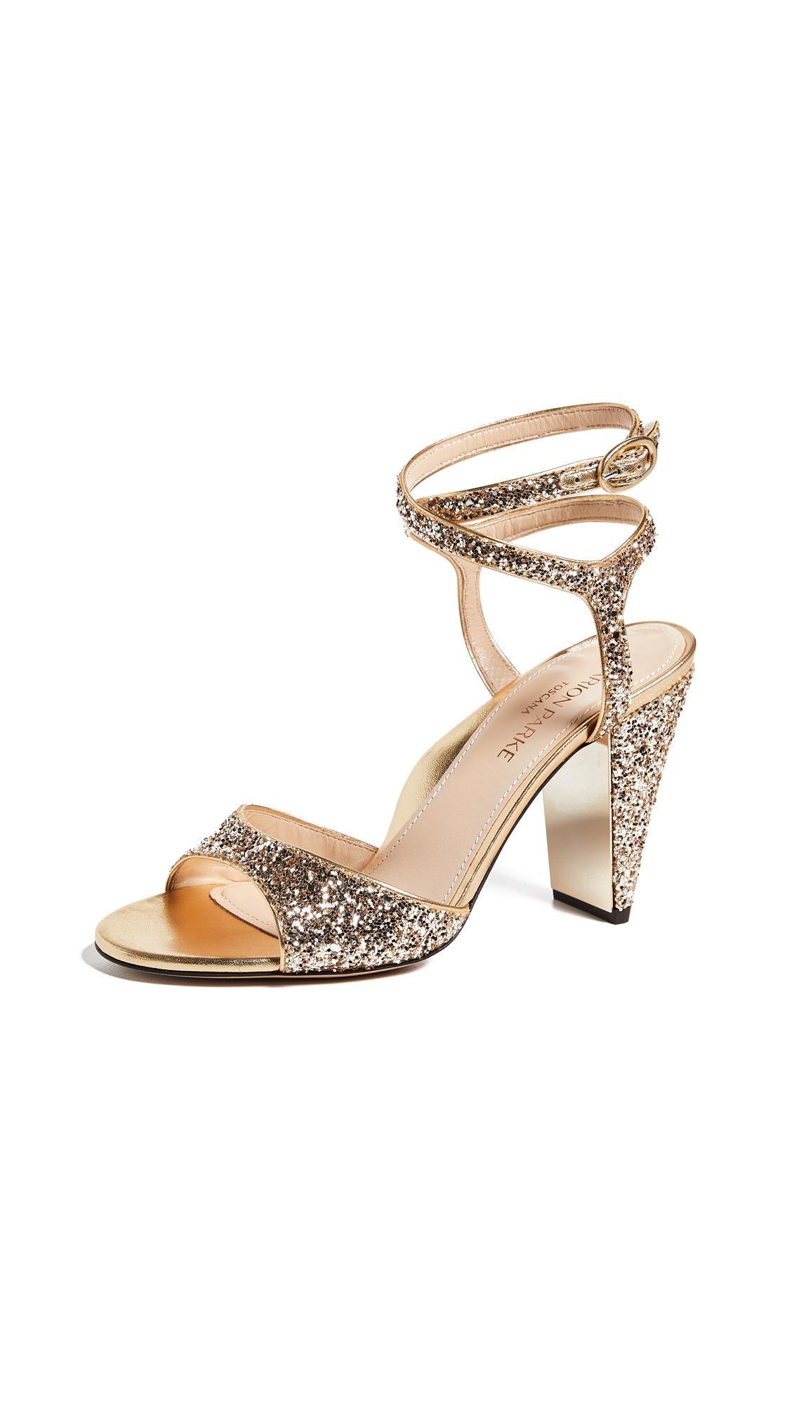 Marion Parke Loretta SP Sandals - Champagne Glitter