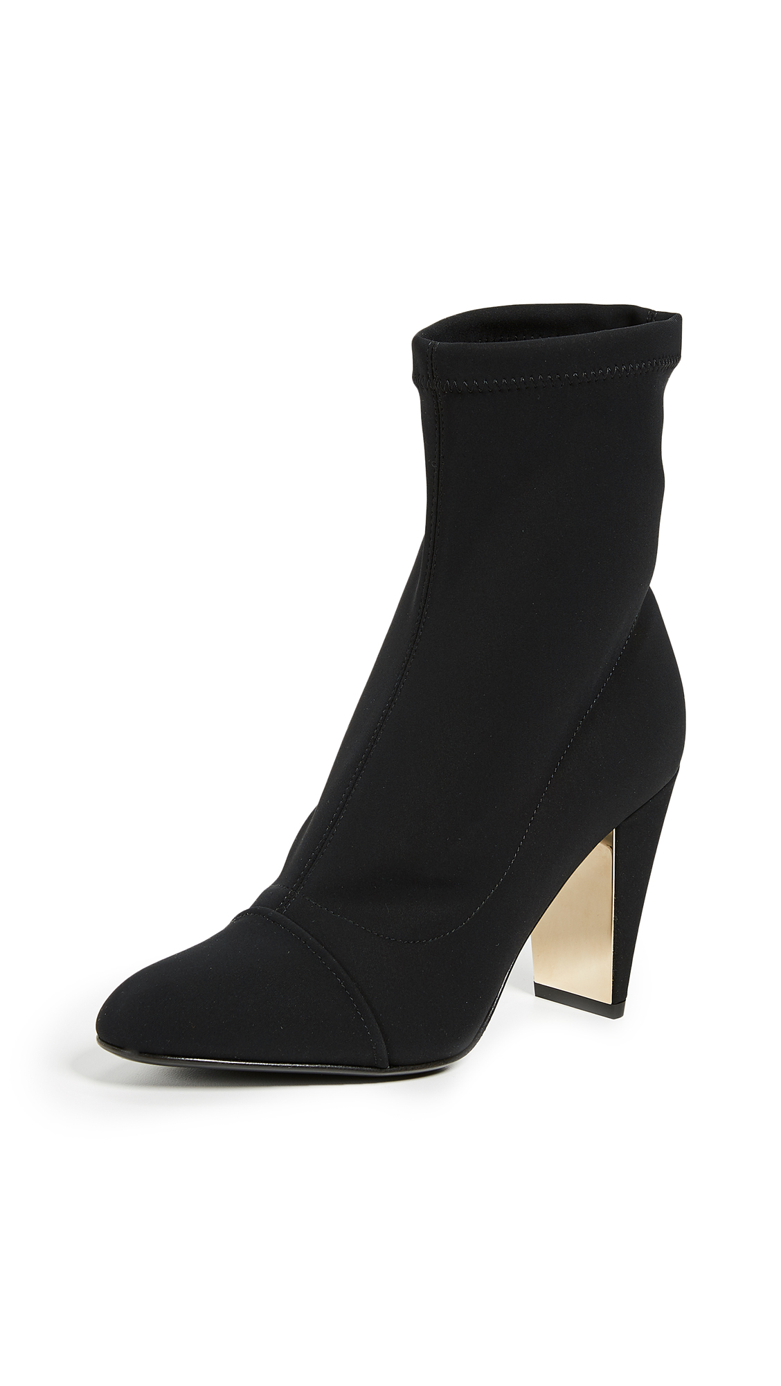 Marion Parke Devon Ankle Booties - Black