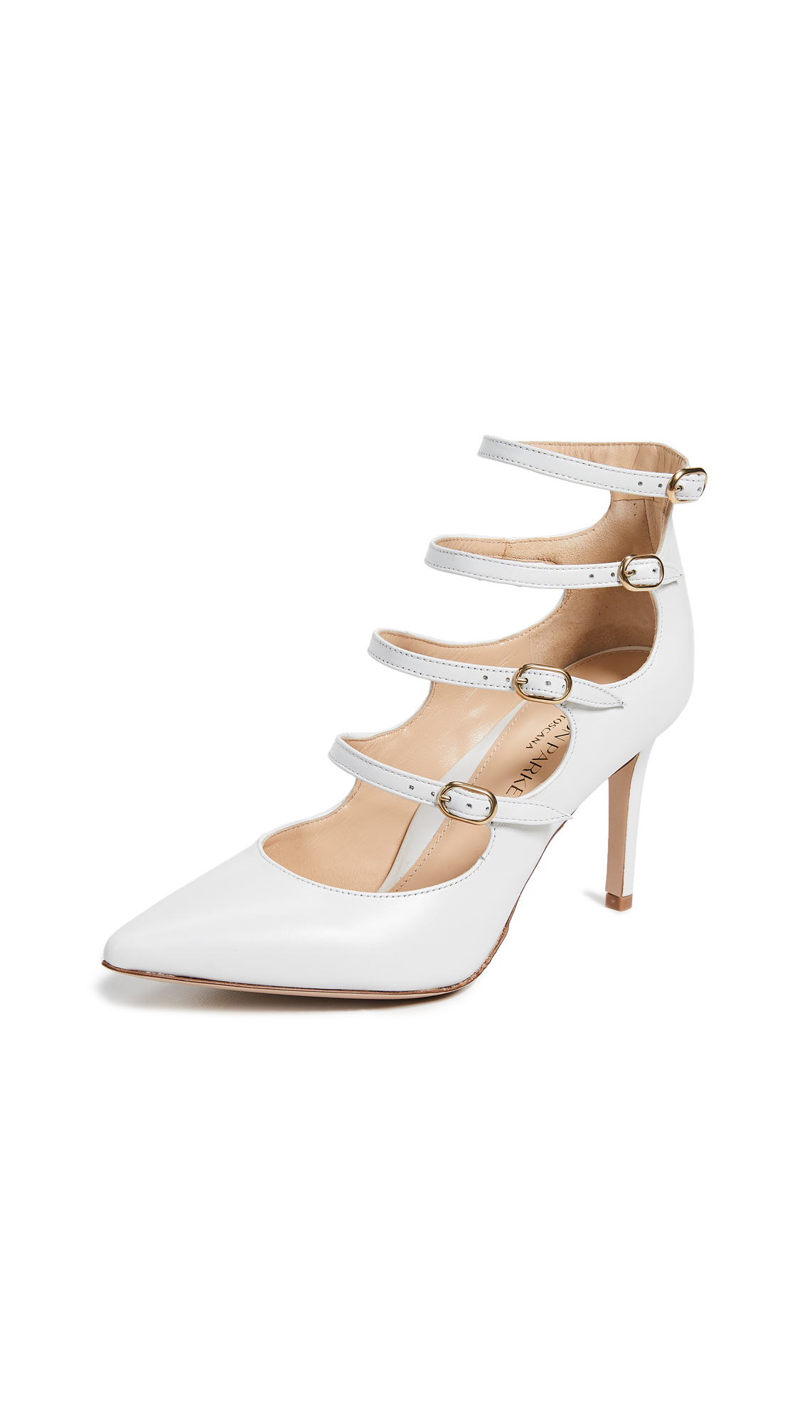 Marion Parke Mitchell Pumps - White
