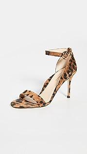 Marion Parke Larkspur Leopard Sandals