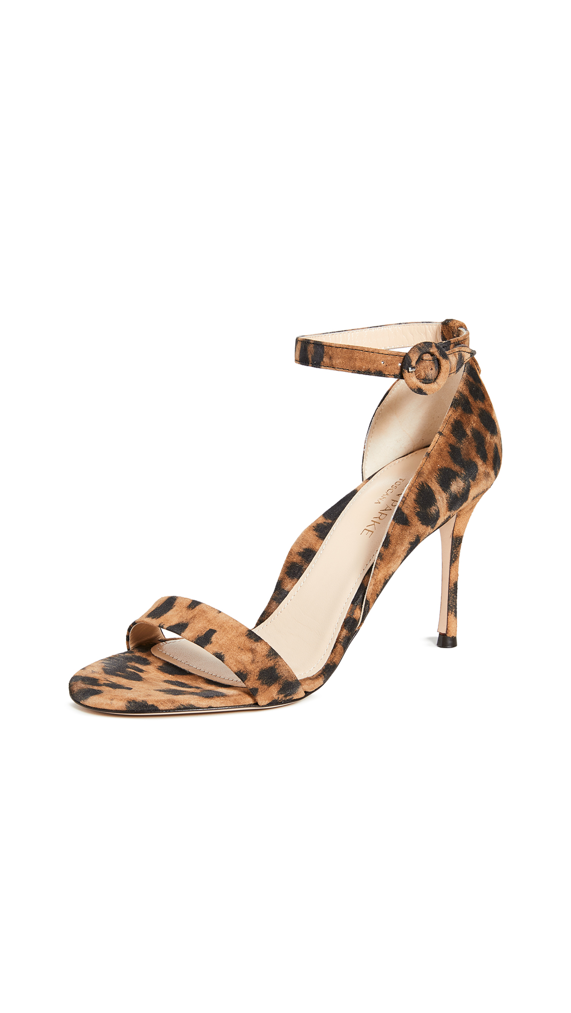 Buy Marion Parke online - photo of Marion Parke Larkspur Leopard Sandals