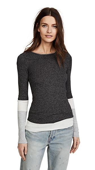 M.PATMOS Margaux Colorblocked Sweater at Shopbop