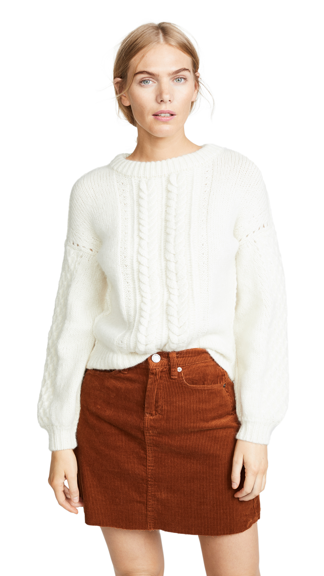 M.PATMOS Anouk Sweater in Ivory