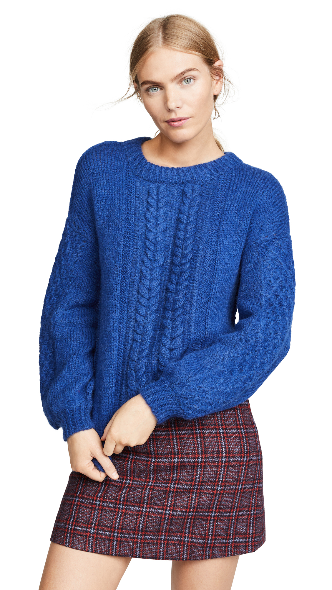 M.PATMOS Anouk Sweater in Cobalt