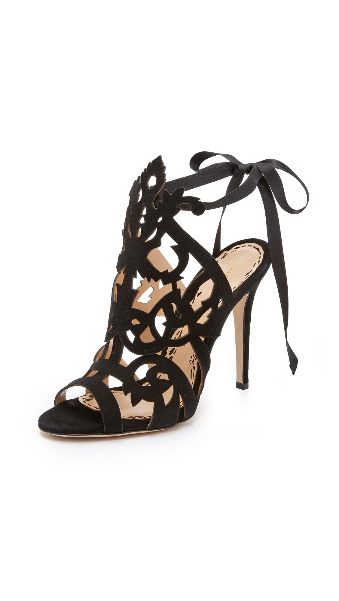 0a0b05ae6f051 Marchesa Jessica Cutout Sandals