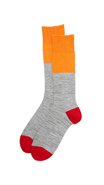 Mr. Gray High Vis Colorblock Socks