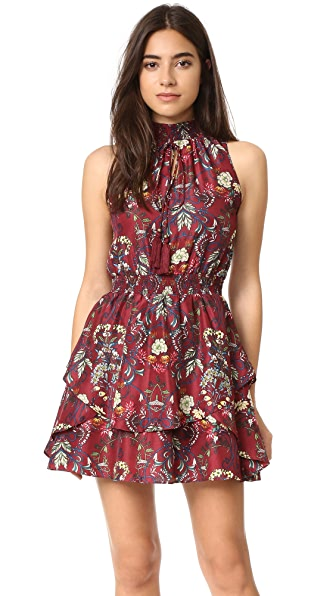 Moon River Flower Printed Dress