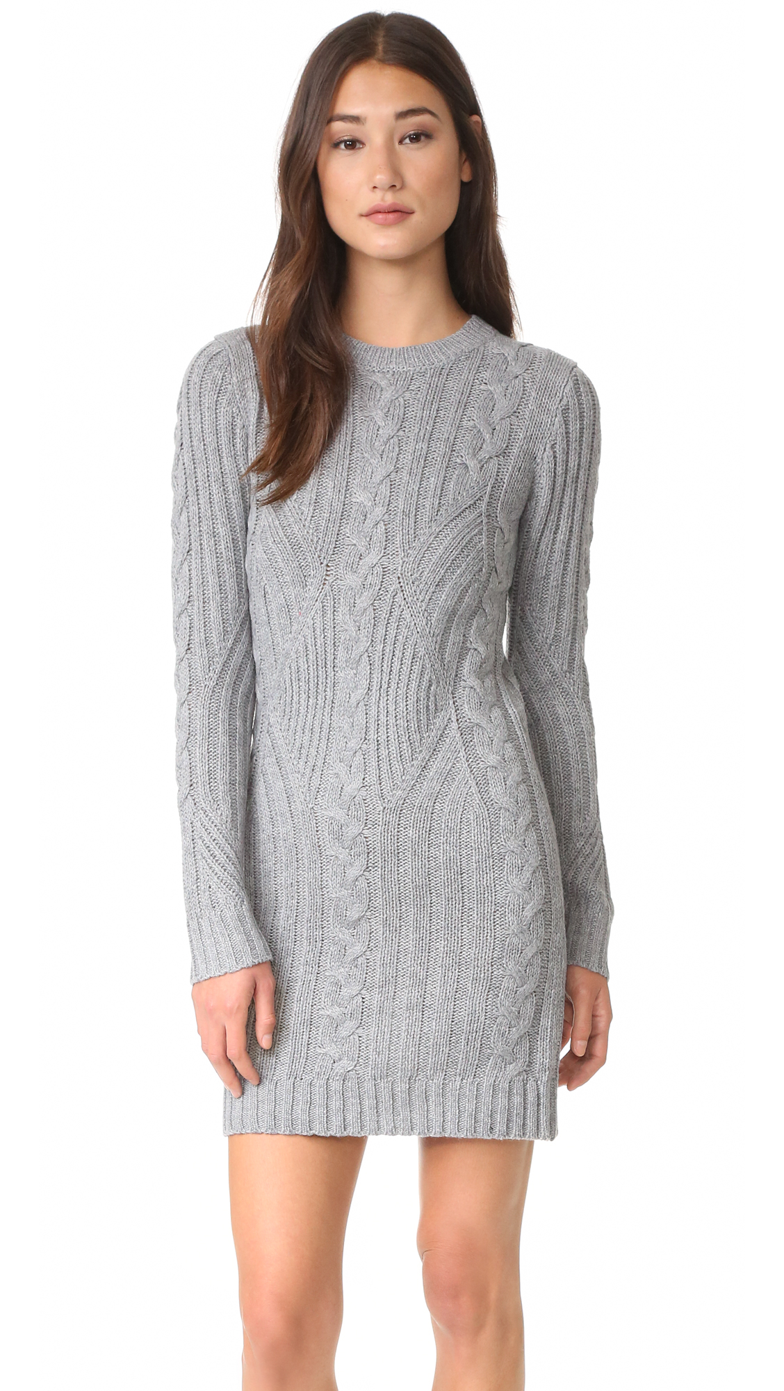 Moon River Long Sleeve Sweater Dress | SHOPBOP