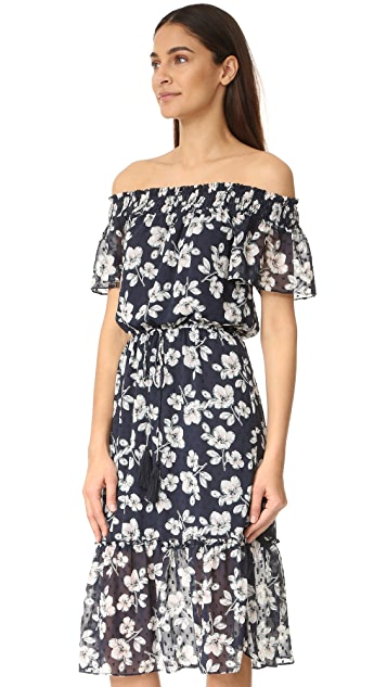 Moon River Floral Dress