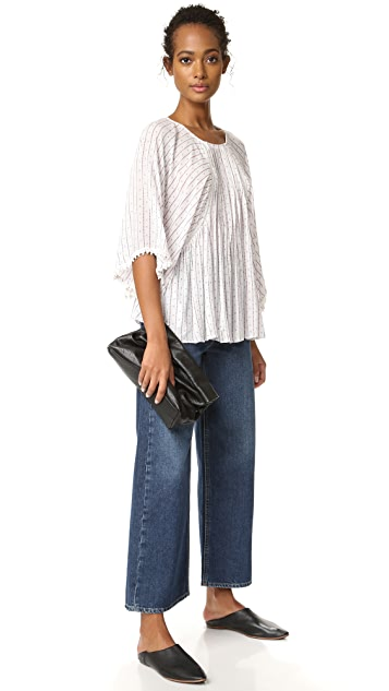 Moon River Stripe Blouse