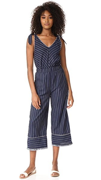Moon River Stripe Jumpsuit