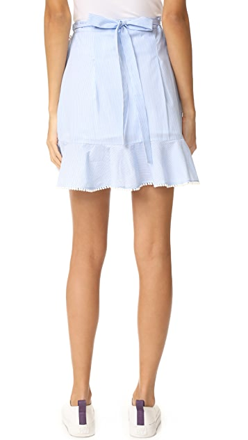 Moon River Ruffle Skirt