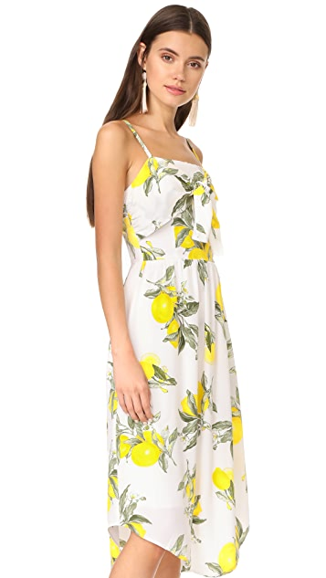 Moon River Front Detailed Camisole Dress