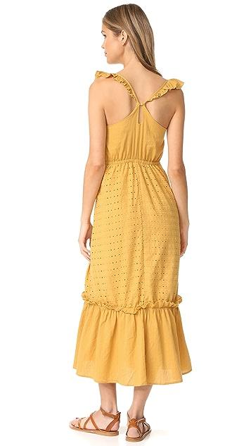 Moon River Ruffle Dress