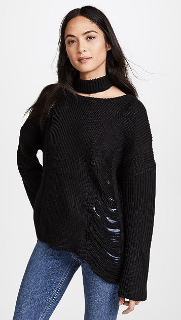 Moon River Collar Sweater