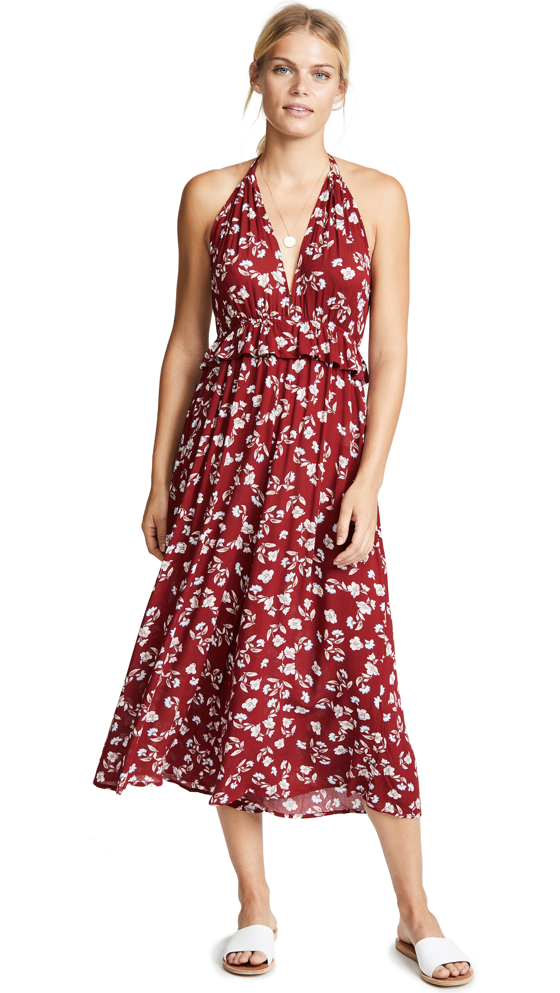 Moon River Floral Jumpsuit