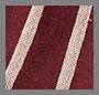 Wine/Tan Stripe