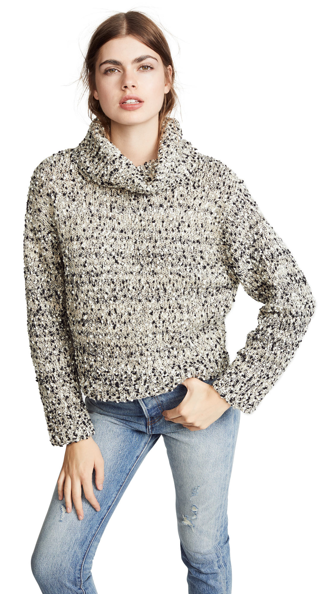 Buy Moon River online - photo of Moon River Marled Sweater