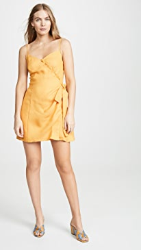 bf480de9ff1 Moon River. Tangerine Mini Dress