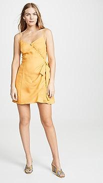 e3e7f9dff11 Moon River. Tangerine Mini Dress