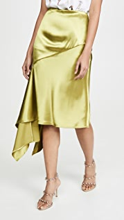Moon River Olive Skirt