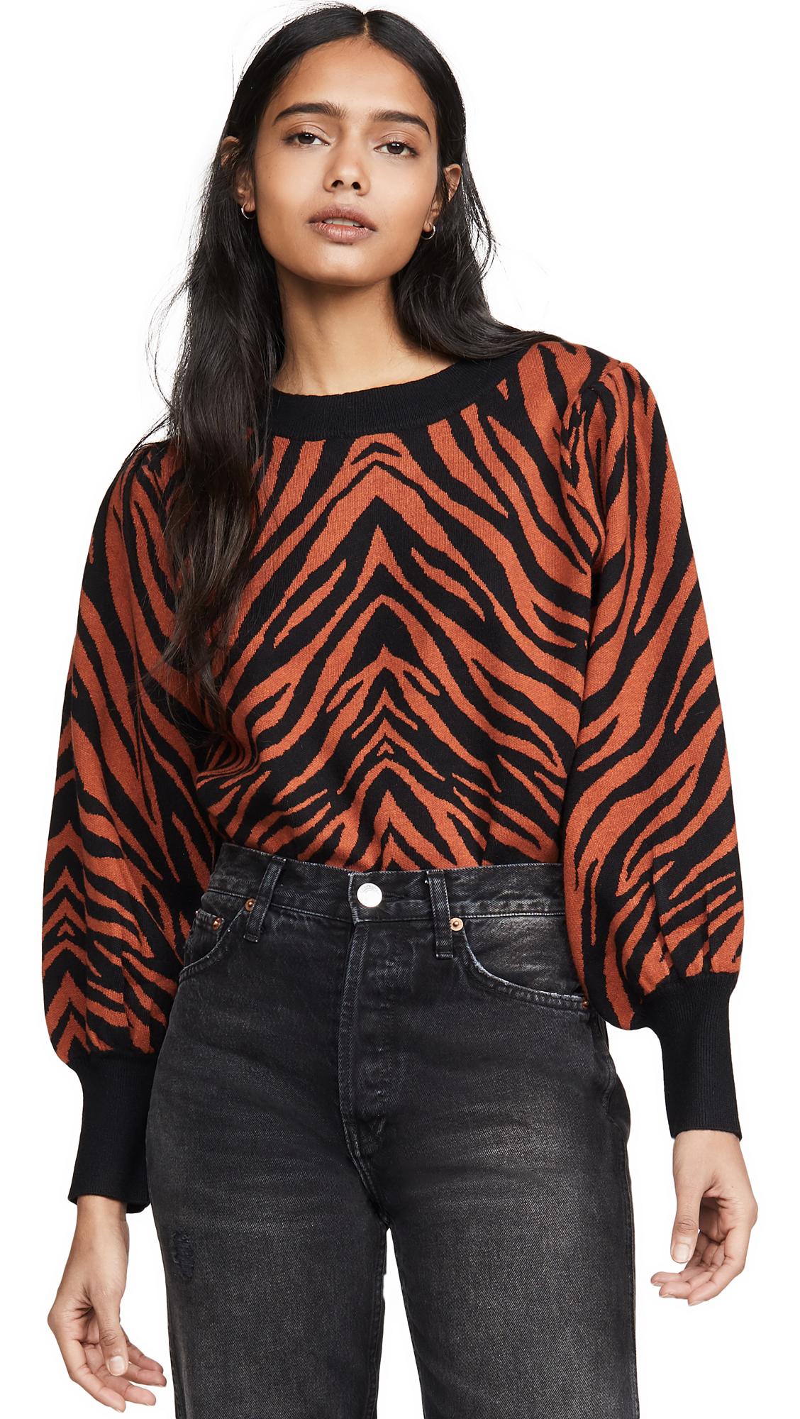 Buy Moon River online - photo of Moon River Zebra Sweater