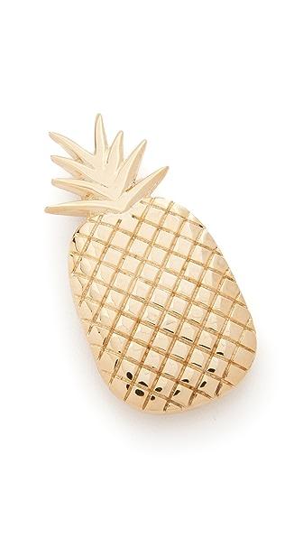 Mrs. President & Co. Заколка в виде ананаса