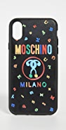 Moschino Logo X / XS iPhone Case