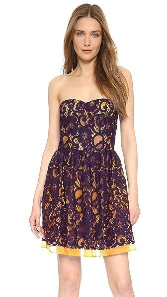 MSGM Платье без бретелек