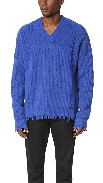 MSGM V Neck Sweater
