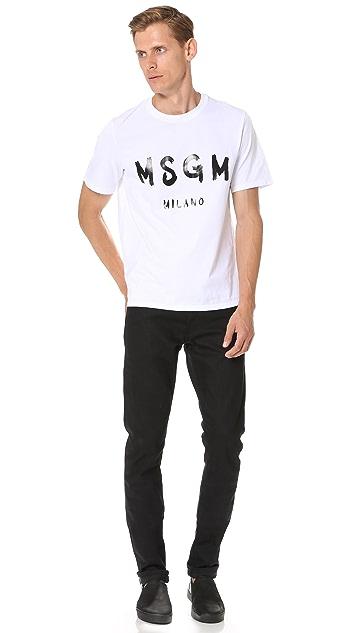 MSGM Logo Tee