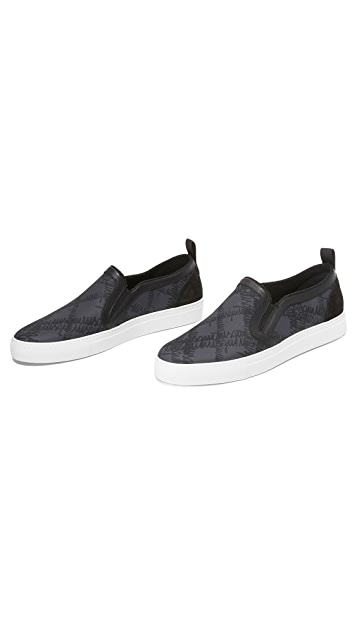 MSGM Slip On Sneakers