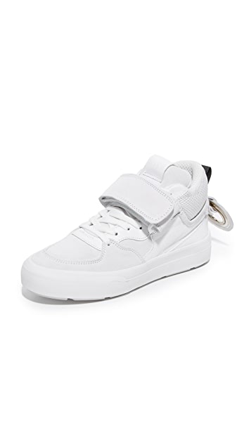 MSGM Ollie Mid Sneakers