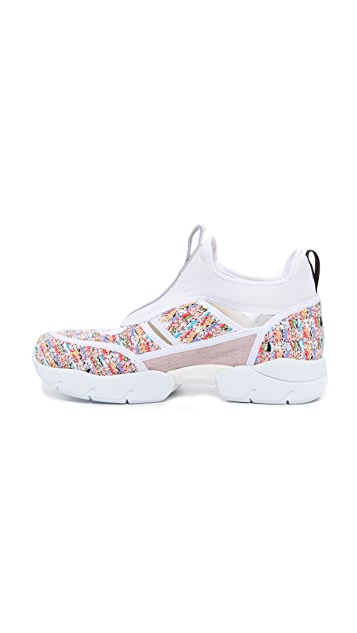 MSGM Open Up Sneakers