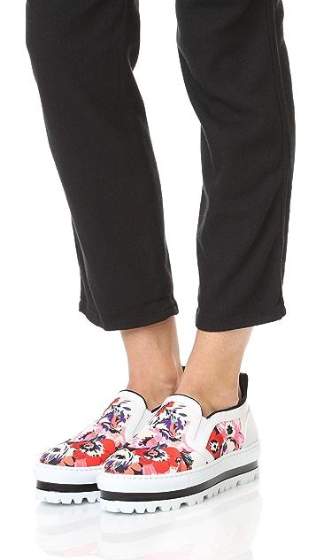 MSGM Slip On Sneakers