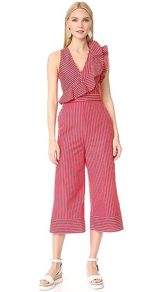 MSGM Stripe Jumpsuit