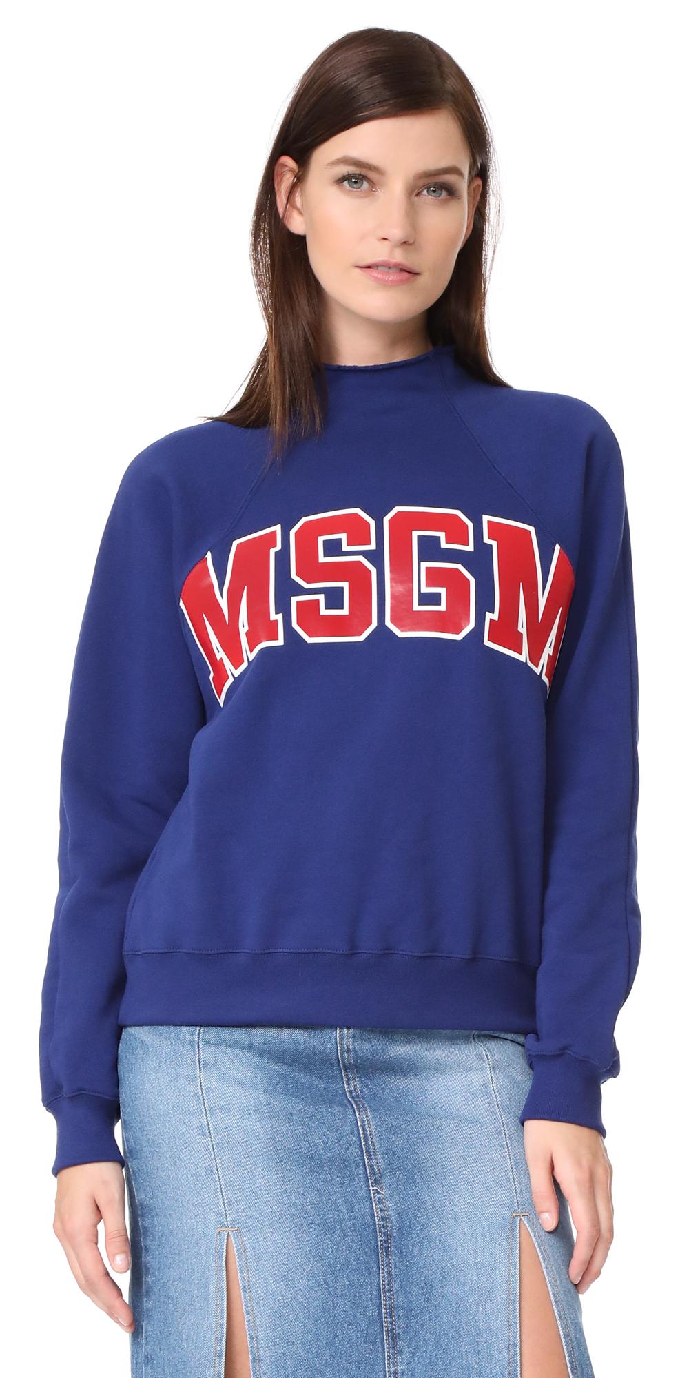 Logo Sweatshirt MSGM