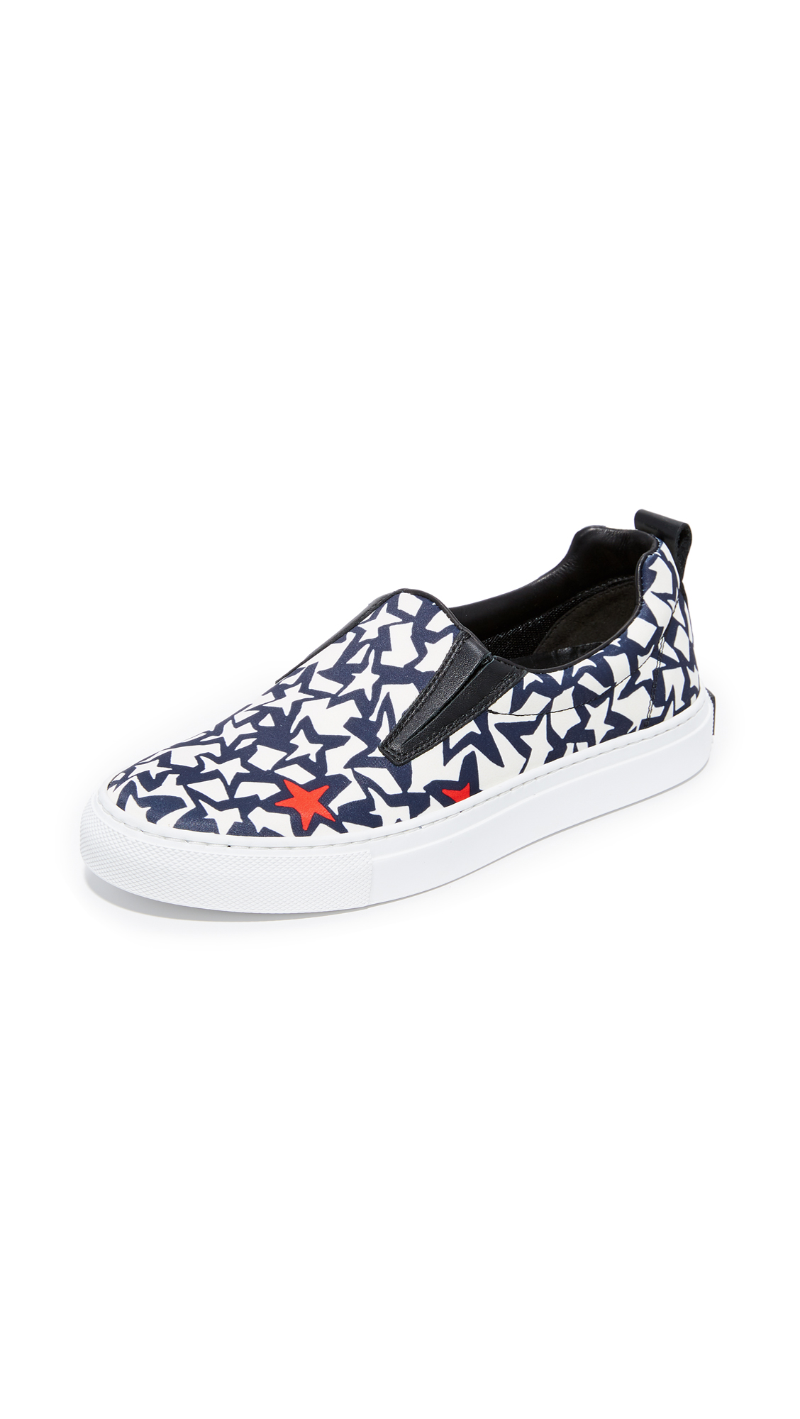 MSGM Slip On Sneakers - Blue/White