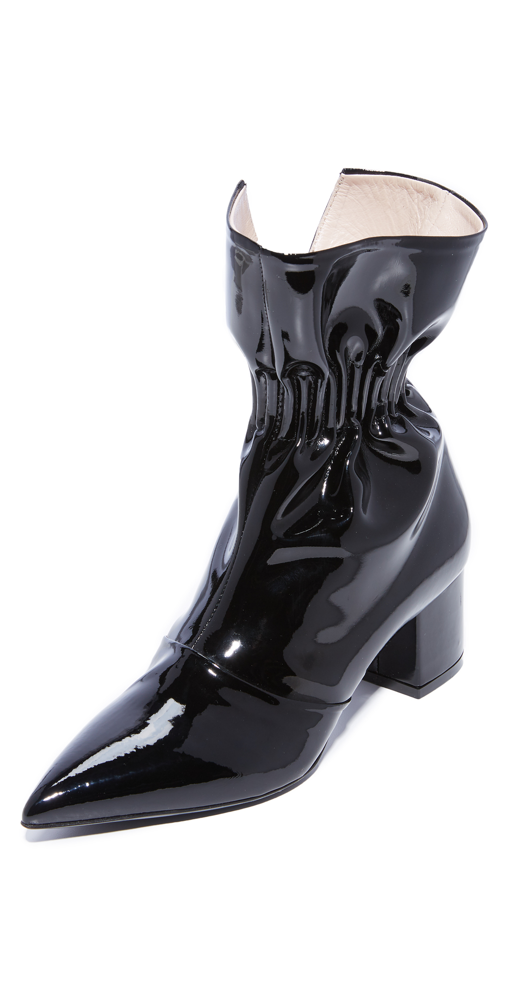 Ruffle Ankle Booties MSGM