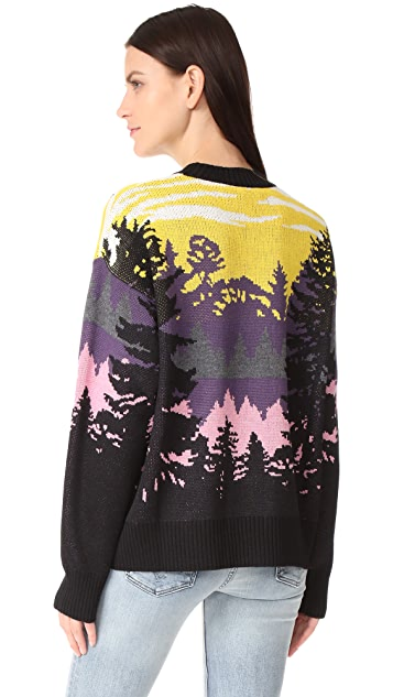 MSGM Forest Sweater