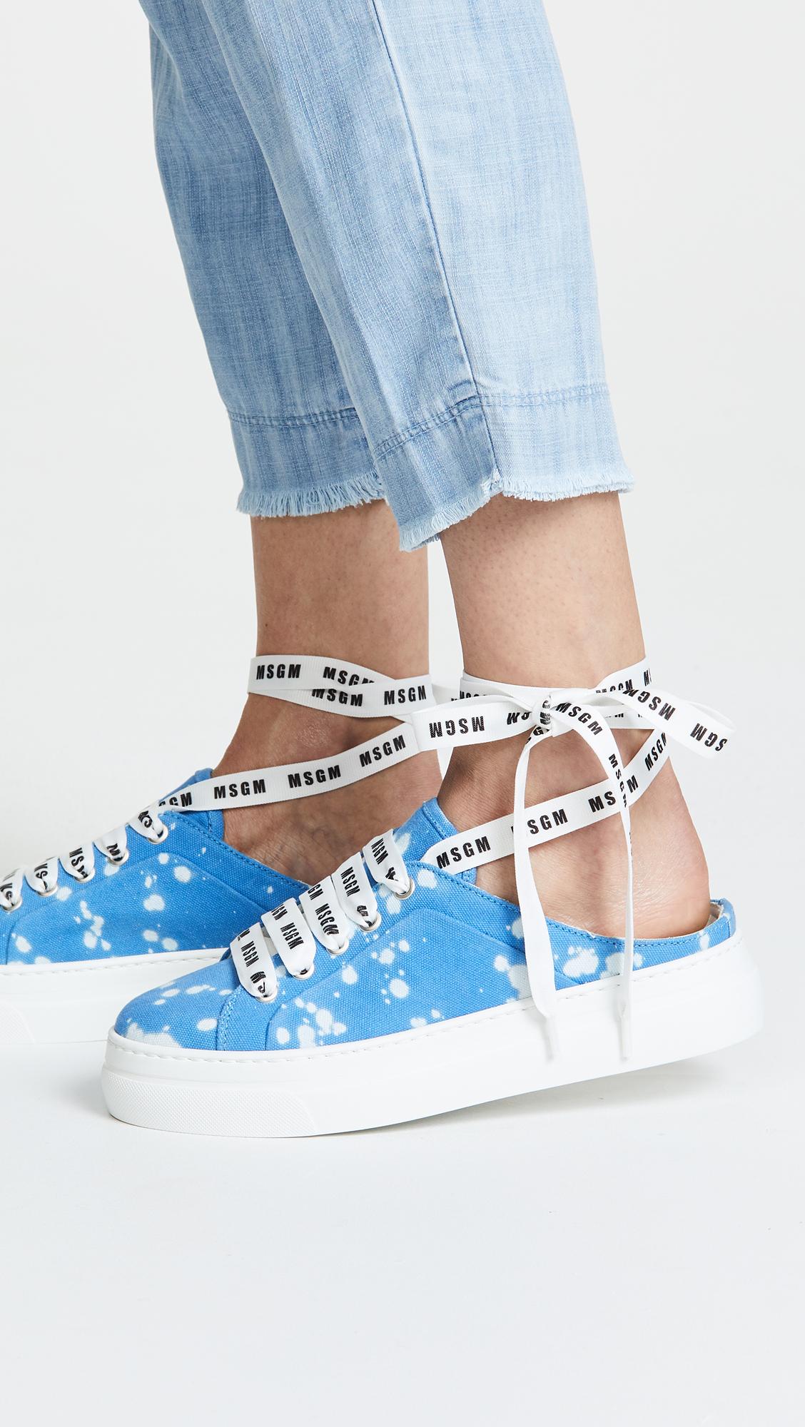 Msgm Drip sneaker mules raDeQqj
