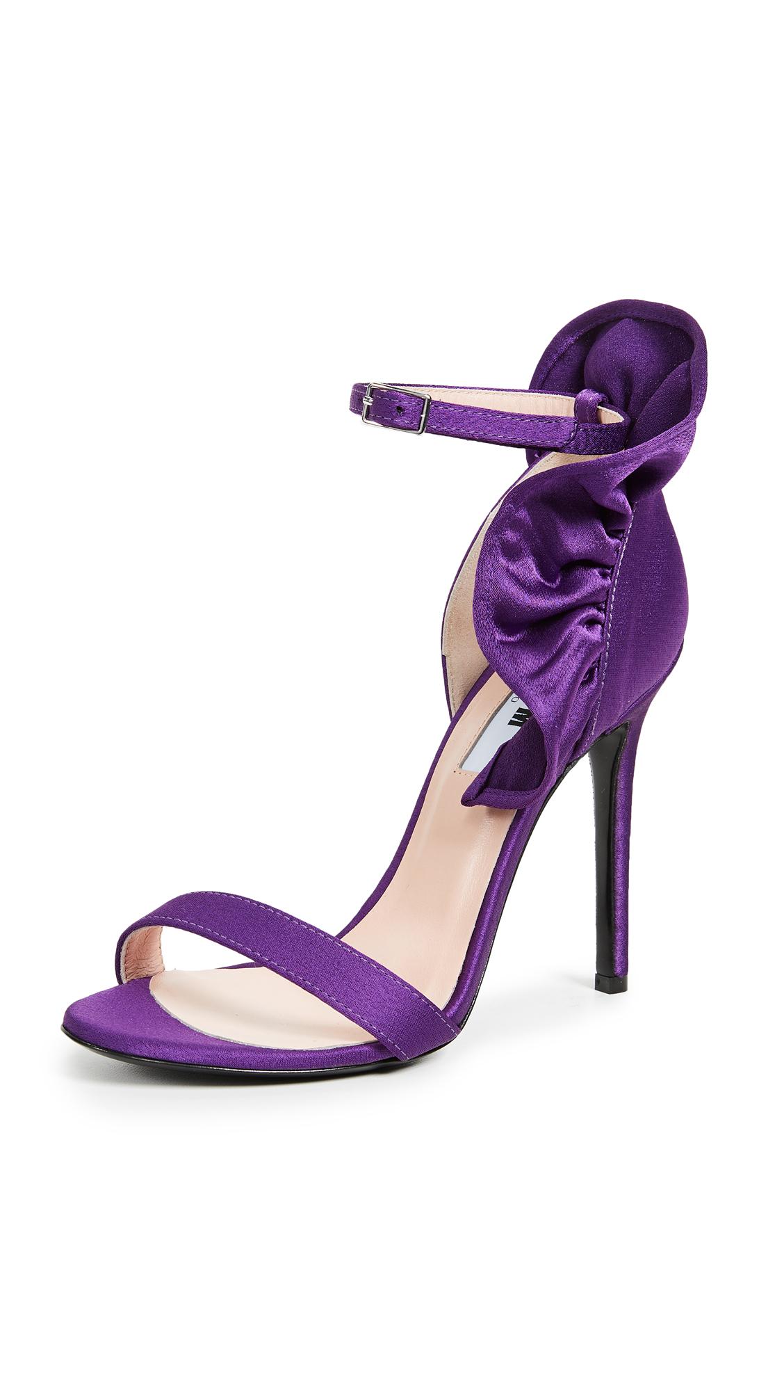 MSGM Rouche Sandals - Purple